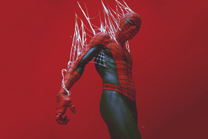 Red Spider Man 2020 4k