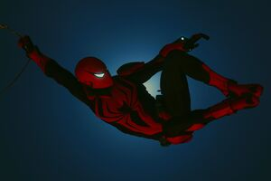 Red Suit Spiderman