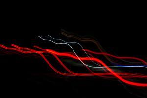 Red White Light Streaks 5k