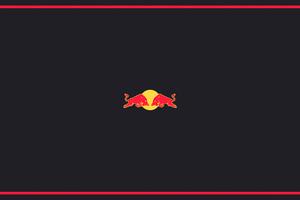 Redbull Minimal Logo 5k Wallpaper