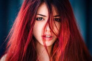 Redhead Women Wallpaper