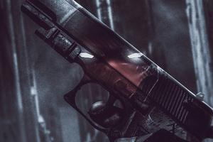 Redhood Gun Wallpaper