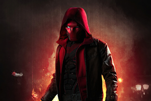 Redhood In Hoodie 4k Wallpaper