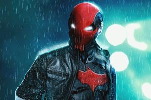 Redhood Vigilante Wallpaper