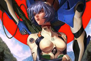 Rei Ayanami Neon Genesis Evangelion Wallpaper