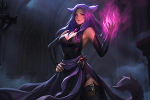 Reina Fantasy Art 4k