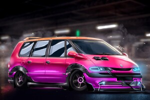 Renault Grand Espace PunkEdition 4k Wallpaper