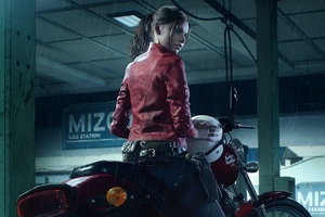 Resident Evil 2 2019 Claire Redfield Harley Davidson