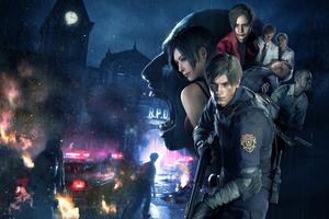 Resident Evil 2 4k Wallpaper