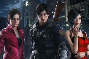 Resident Evil 2 Arts