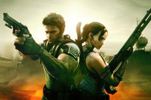 Resident Evil 5 4k Artwork