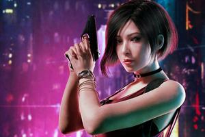 Resident Evil Ada Wong 2020 Wallpaper