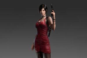 Resident Evil Ada Wong 4k Wallpaper