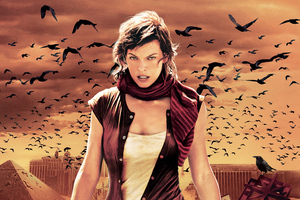 Resident Evil Extinction 2007 Wallpaper