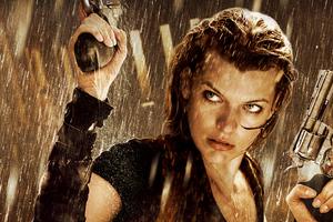 Resident Evil Movie 4k