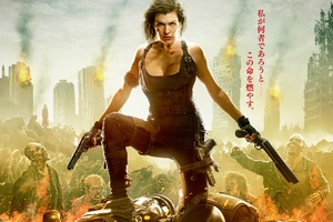 Resident Evil The Final Chapter 2016 Movie Wallpaper