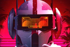 Retro Star Wars Wallpaper