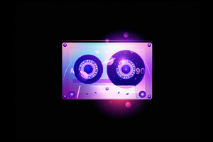 Retro Style Cassette 4k