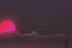 Retrowave Morning
