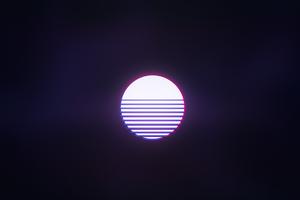Retrowave Sun