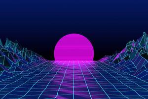 Retrowave Sunrise