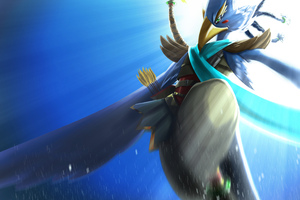 Revali The Legend Of Zelda Breath Of The Wild Wallpaper