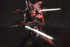 Revenge Is Not The Jedi Way Ahsoka Wallpaper