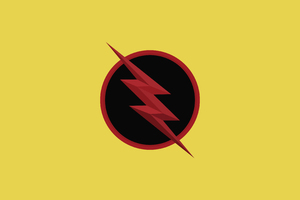 Reverse Flash 4K Wallpaper