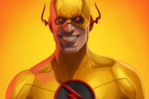 Reverse Flash Art