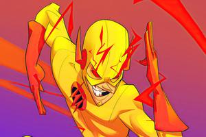 Reverse Flash Art 4k