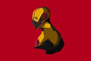 Reverse Flash Minimalism 4K