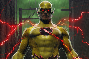 Reverse Flash Wallpaper