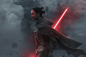 Rey As Maul Wallpaper