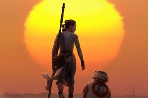 Rey BB8 Star Wars Wallpaper