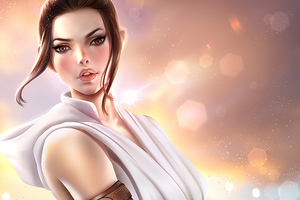 Rey Fanart Wallpaper