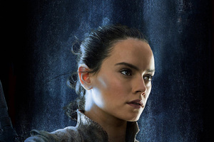 Rey Star Wars The Last Jedi 2017 Empire Magazine