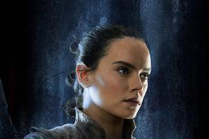 Rey Star Wars The Last Jedi 2017 Empire Magazine Wallpaper
