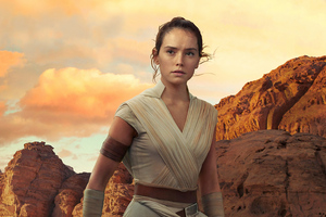 Rey Star Wars The Rise Of Skywalker 2019 4k Wallpaper