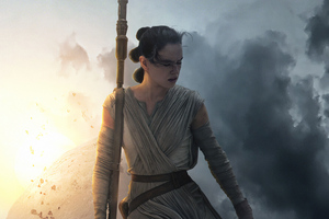 Rey Star Wars The Rise Of Skywalker 4k