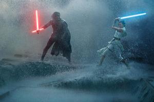 Rey Vs Kylo Ren Star Wars The Rise Of Skywalker