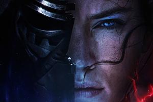 Rey Vs Kylo Ren Star Wars The Rise Of Skywalker 2019 Wallpaper