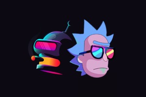 Rick And Bender Wallpaper