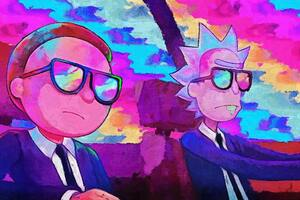 Rick And Morty 5k Artwork Wallpaper