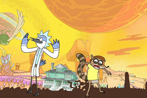 Rick And Morty Different Dimensions Wallpaper