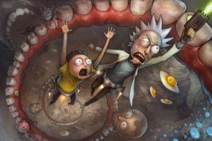 Rick And Morty Escape 5k