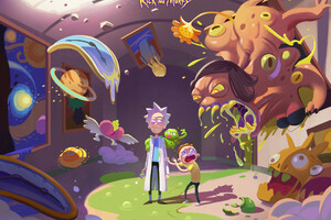 Rick And Morty Hd Art