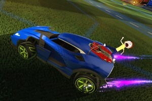 Rick And Morty Head To The Rocket League