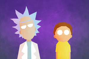 Rick And Morty Minimalist