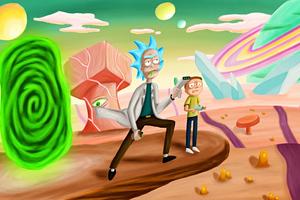 Rick And Morty Season 4 2019 4k Wallpaper