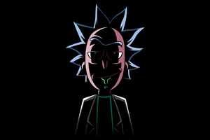 Rick Sanchez 4k 2020 Wallpaper